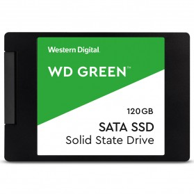 WD Green PC SSD 2.5 Inch SATA III 120GB - WDS120G2G0A - Green