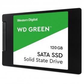 WD Green PC SSD 2.5 Inch SATA III 120GB - WDS120G2G0A - Green - 2