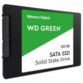 WD Green PC SSD 2.5 Inch SATA III 120GB - WDS120G2G0A - Green - 3