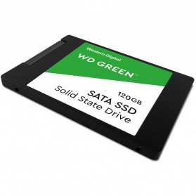 WD Green PC SSD 2.5 Inch SATA III 120GB - WDS120G2G0A - Green - 4