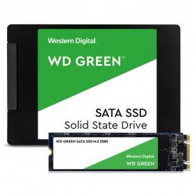 WD Green PC SSD 2.5 Inch SATA III 120GB - WDS120G2G0A - Green - 5