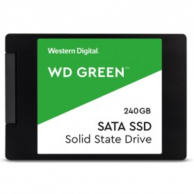 WD Green PC SSD 2.5 Inch SATA III 240GB - WDS240G2G0A - Green