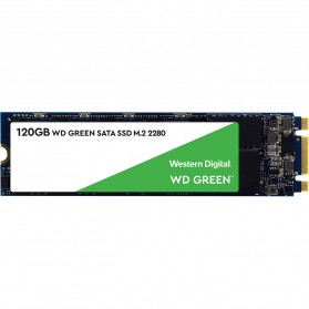 WD Green PC SSD M2 2280 SATA 120GB - WDS120G2G0B - Green