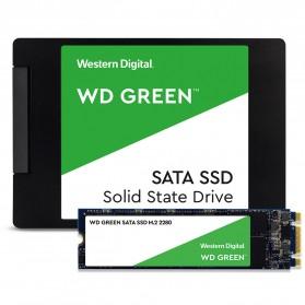 WD Green PC SSD M2 2280 SATA 120GB - WDS120G2G0B - Green - 2