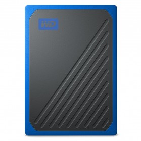 WD My Passport Go SSD Portable USB 3.0 500GB - WDBMCG5000ABT - Blue