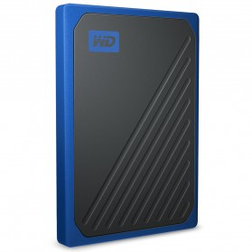 WD My Passport Go SSD Portable USB 3.0 1TB - WDBMCG0010BBT - Blue - 2