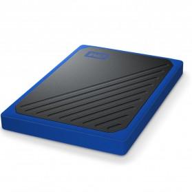 WD My Passport Go SSD Portable USB 3.0 1TB - WDBMCG0010BBT - Blue - 3