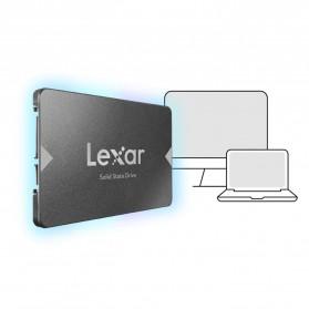 Lexar NS10 Lite SSD 2.5 Inch SATA III (6Gb/s) 120GB - LNS10LT-120BCN - Black - 5