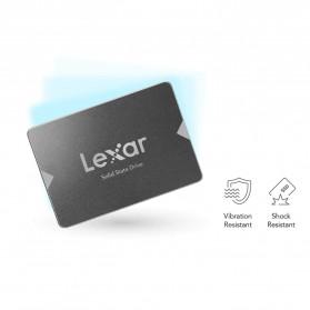 Lexar NS10 Lite SSD 2.5 Inch SATA III (6Gb/s) 120GB - LNS10LT-120BCN - Black - 6
