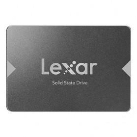 Laptop / Notebook - Lexar NS100 SSD 2.5 Inch SATA III (6Gb/s) 128GB - LNS100 - Black