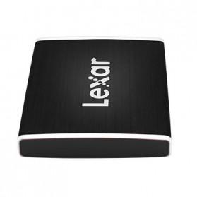 Lexar SL100 Pro Portable SSD USB Type C 500GB - LSL100P - Black - 4