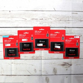 SanDisk SSD Plus 120GB SATA - SDSSDA-120G - Black - 3