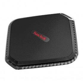 SanDisk Extreme 500 Portable SSD USB 3.0 500GB - SDSSDEXT-500G - Black