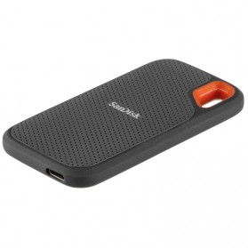 SanDisk Extreme Portable SSD V2 USB Type C 3.2 2TB - SDSSDE61-2T00 - Black - 2
