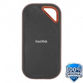 SanDisk Extreme PRO Portable SSD V2 USB Type C 3.2 2TB - SDSSDE81 - Black - 2