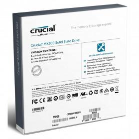 Crucial SATA 2.5 Internal SSD 750GB - MX300 - 4