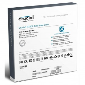 Crucial SATA 2.5 Internal SSD 275GB - MX300 - 4