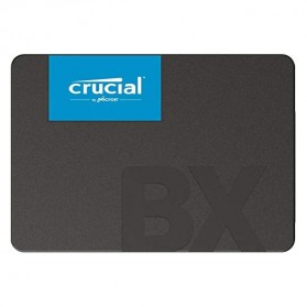 Crucial SATA 2.5 Internal SSD 6GB/s 240GB - BX500 - Black - 2