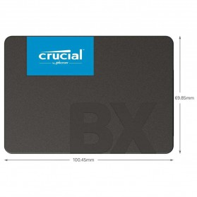 Crucial SATA 2.5 Internal SSD 6GB/s 240GB - BX500 - Black - 4