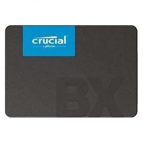 Crucial SATA 2.5 Internal SSD 6GB/s 480GB - BX500 - Black - 2