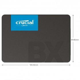 Crucial SATA 2.5 Internal SSD 6GB/s 480GB - BX500 - Black - 4