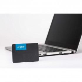 Crucial SATA 2.5 Internal SSD 6GB/s 480GB - BX500 - Black - 5