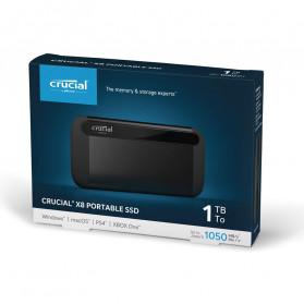 Crucial Portable SSD 1TB - X8 - 5