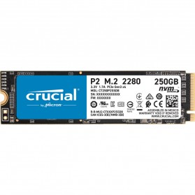 Laptop / Notebook - Crucial P2 SSD PCIe M.2 2280 250GB - CT250P2SSD8