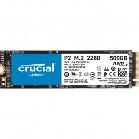Laptop / Notebook - Crucial P2 SSD PCIe M.2 2280 500GB - CT500P2SSD8