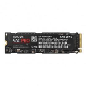 Storage Komputer PC / Laptop - Samsung SSD 960 Pro NVMe M.2 512GB - MZ-V6P512BW - Black