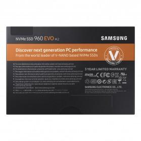 Samsung SSD 960 EVO NVMe M.2 500GB - MZ-V6E500BW - 6