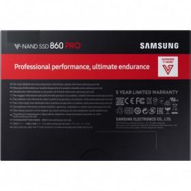 Samsung SSD 860 Pro 512GB - Black - 6