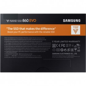 Samsung SSD 860 EVO 500GB - Black - 6
