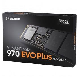 Samsung SSD 970 EVO Plus NVMe M.2 250GB - MZ-V7S250BW - 8