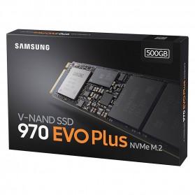 Samsung SSD 970 EVO Plus NVMe M.2 500GB - MZ-V7S500BW - 7
