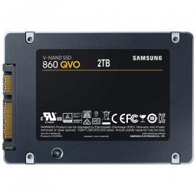Samsung SSD 860 QVO 2TB - MZ-76Q2T0BW - Black - 2