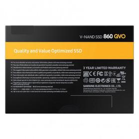 Samsung SSD 860 QVO 2TB - MZ-76Q2T0BW - Black - 7