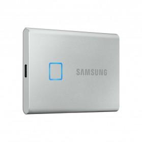Samsung Portable SSD T7 Touch 500GB - MU-PC500K/S - Silver