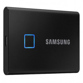 Samsung Portable SSD T7 Touch 500GB - MU-PC500K - Black
