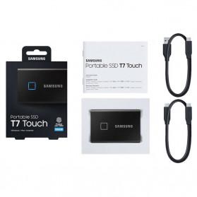 Samsung Portable SSD T7 Touch 500GB - MU-PC500K - Black - 7