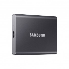 Samsung Portable SSD T7 USB 3.2 Gen2 500GB - MU-PC500T - Titanium Gray