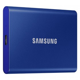 Samsung Portable SSD T7 USB 3.2 Gen2 500GB - MU-PC500T - Blue