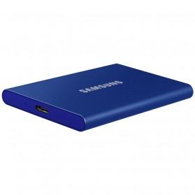 Samsung Portable SSD T7 USB 3.2 Gen2 500GB - MU-PC500T - Blue - 4