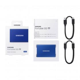 Samsung Portable SSD T7 USB 3.2 Gen2 500GB - MU-PC500T - Blue - 6