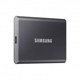 Samsung Portable SSD T7 USB 3.2 Gen2 2TB - MU-PC2T0T - Titanium Gray