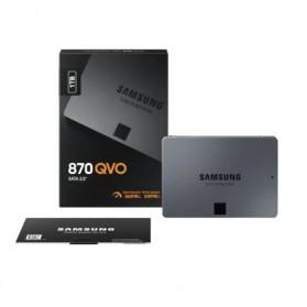 Samsung SSD 870 QVO SATA-3 1TB - MZ-77Q1T0BW - Black - 7