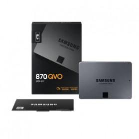 Samsung SSD 870 QVO SATA-3 4TB - MZ-77Q4T0BW - Black - 7