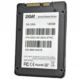 DGM Prestige Pro 2.5-Inch 120GB SATA III Solid State Drive - S3-120A - Black - 3