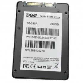 DGM Prestige Pro 2.5-Inch 240GB SATA III Solid State Drive - S3-240A - Black - 3