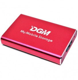 DGM My Mobile Storage External Portable SSD 256GB - Red